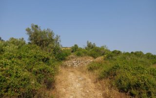 caminhada aldeia mata pequena cheleiros cascatas ancos caminhando-11