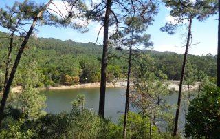 caminhada lagoas serra sintra lagoa azul rio da mula caminhando 10