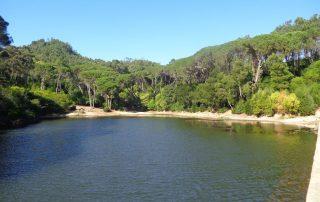 caminhada lagoas serra sintra lagoa azul rio da mula caminhando 6