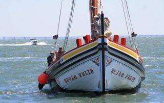 passeio barco rio tejo lisboa por-do-sol caminhando-4