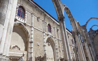 visita museu arqueologico ruinas do carmo caminhando-11