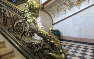 visita palacio foz abadia makavencos caminhando-14