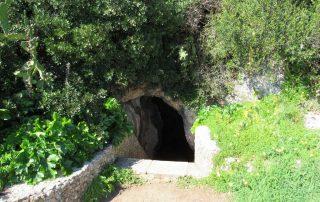 visita convento da arrabida setubal gruta santa margarida caminhando-5