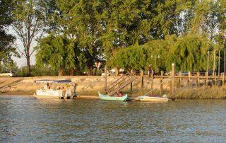 passeio barco escaroupim avieiros caminhando 3