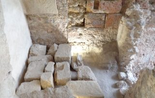 visita teatro romano museu de lisboa alfama caminhando-20