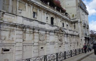 visita teatro romano museu de lisboa alfama caminhando-9