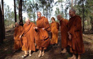 visita mosteiro budista ericeira caminhando 5