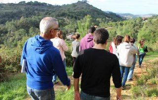 caminhada visita centro iberico lobos mafra caminhando 8