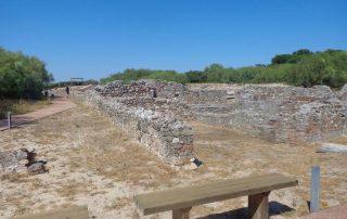 caminhada ruinas romanas troia caminhando-10
