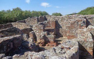 caminhada ruinas romanas troia caminhando-12