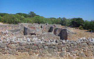 caminhada ruinas romanas troia caminhando-14