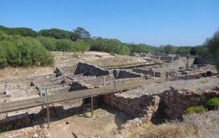 caminhada ruinas romanas troia caminhando-18