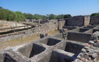 caminhada ruinas romanas troia caminhando-7
