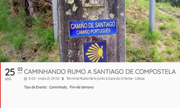 Caminhos de Santiago de Compostela