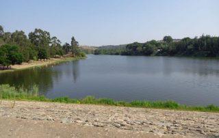 caminhada acude do gameiro parque ecologico do gameiro mora fluviario cabecao caminhando-14