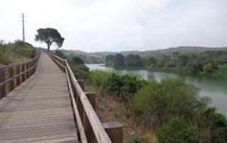 caminhada acude do gameiro parque ecologico do gameiro mora fluviario cabecao caminhando-17