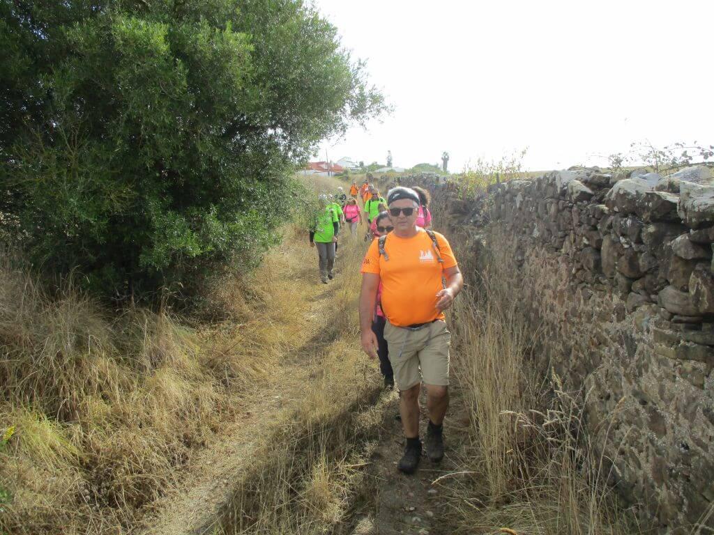 Guia Jorge Humberto caminhando