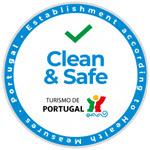 selo estabelecimento clean and safe agência turismo portugal