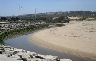 caminhada praia areia branca foz rio grande caminhando