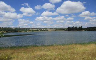 caminhada barragem da oleirita arraiolos caminhando