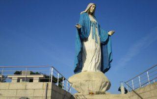 caminhada campia oliveira de frades nossa senhora milagrosa caminhando