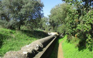 caminhada aqueduto da agua prata evora caminhando