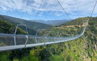 caminhada ponte suspensa arouca caminhando