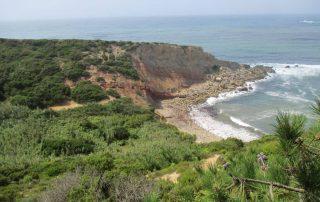 caminhada salir do porto duna de areia caminhando