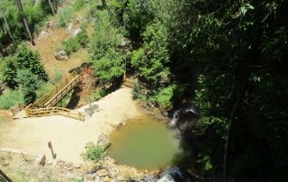 caminhada georota do orvalho passadiços fraga da cascata da água d'altaoleiros caminhando
