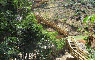 caminhada georota do orvalho passadiços fraga da cascata da água d'alta oleiros caminhando